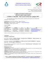 1 Bollettino Ufficiale U17M-1314 - Fipav