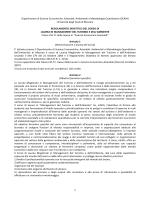 Regolamento didattico MTA - Università degli Studi di Messina