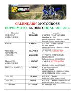 Calendario Sardegna 2014