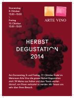 HerBsT DegusTATIOn 2014