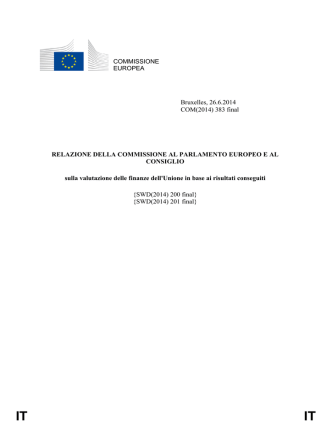 COM(2014)383/F1 - IT - European Commission