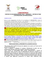 MESSAGGIO DELLA PRESIDENTE AUSER DI SAVONA