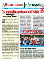 Giugno 2014 - Comune di Buccinasco