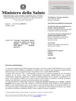Nota 7841 del 08.04.2014: circolare concernente misure sanitarie