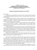 Relazione Gestione Bilancio Civile solo Garda Uno 2012
