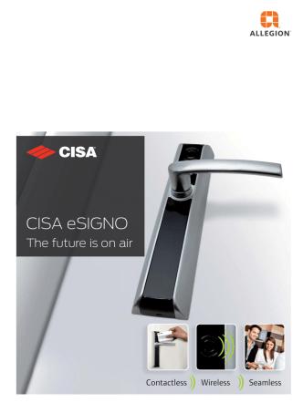 CISA eSIGNO.indd