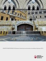 relazione semestrale MPS - Banca Monte dei Paschi di Siena