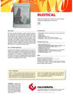 RUSTICAL - Calcidrata S.p.A.