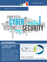N. 10 di SERIT - Distretto Tecnologico Cyber Security