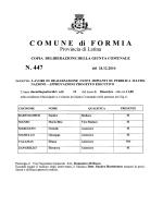N. 447 - Comune di Formia