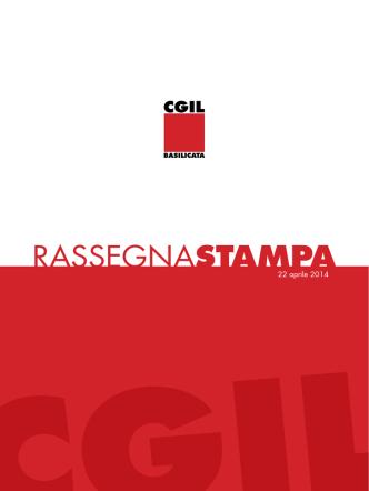 22_4_2014 - CGIL Basilicata
