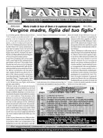 Tandem Maggio 2014 - Orari Sante Messe