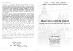pdf depliant - Teatro La Fenice