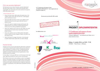 7a Conferenza sul tumore al seno DIPLOMPATIENTIN®