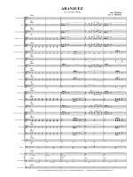 Partitura Aranjuez - Antonino Albanese