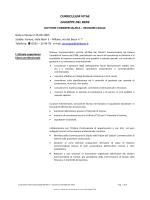 Curriculum OIV Dr. Del Bene - Amministrazione trasparente