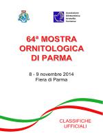 8 - 9 novembre 2014 Fiera di Parma - adop
