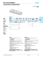 MW 70 LED NOT DIMMABLE SELV