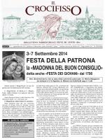 Visualizza bollettino 4-2014 - Parrocchia di Pieve di Cento