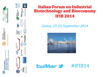 #IFIB14 - The Protein Factory