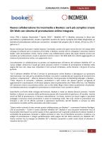 comunicato stampa - Incomedia Website