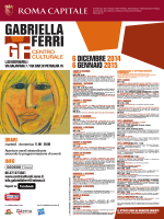 6 dicembre 2014 6 gennaio 2015 - Centri Culturali Periferie Roma