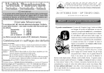 26 OTTOBRE 2014 - 30ª TEMPO ORD.