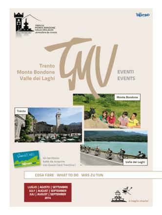 Calendario eventi luglio agosto settembre 2014