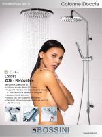 promozioni colonne doccia bossini