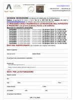 agg.17.4 Scheda iscrizione e Brochure PCT e PEC