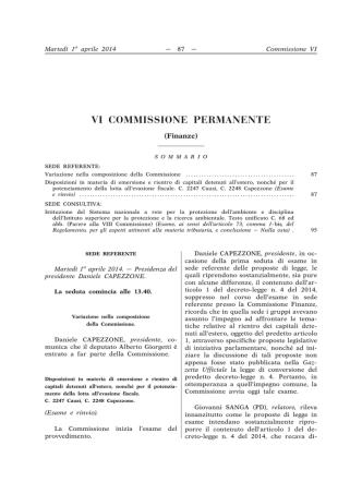 Atti Parlamentari - Governo Italiano