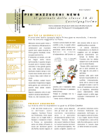 PIO MAZZUCCHI NEWS Il giornale della classe 3B di Castelguglielmo