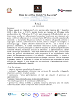 P.A.I. - Liceo Scientifico Seguenza