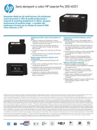 colori HP LaserJet Pro 200 M251n