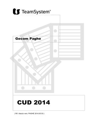 CUD 2014 - SPES di Antonio Raso, Vendita Software per
