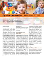 Numero 15 - Servizio per le pari opportunità