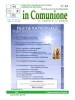 In comunione n° 43 del 22 giugno 2014