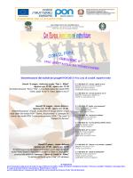 locandina disseminazione progetti Pon C-1