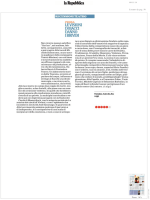 leggi le recensioni - Fondazione Pontedera Teatro