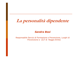(Microsoft PowerPoint - ppt personalit\340 dipendente)