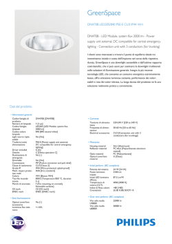 GreenSpace Compact DN470B, apparecchio downlight con