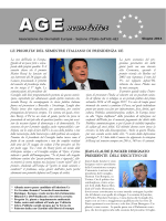 Age Newsletter giugno 2014
