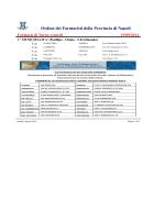 Turni Venerdì 19 Settembre 2014 - Ordine dei Farmacisti della