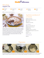 Ricetta Apple Pie - GialloZafferano.it