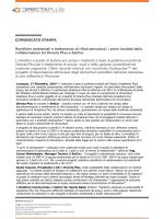 COMUNICATO STAMPA Bonifiche ambientali e