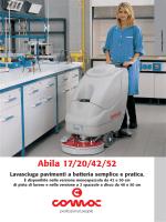 scheda tecnica (PDF) - Macchine pulizia industriale