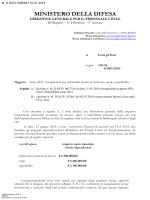 Circolare (file  289 Kb) - Ministero della Difesa