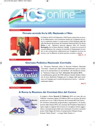 AICS ON LINE N° 340 del 06/02/2014