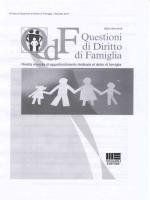 QDF - Questioni di diritto di famiglia