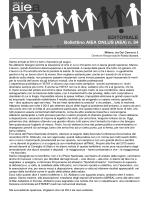 bollettino - AIEA Onlus